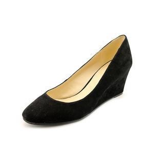 Nine West Women's 'Ispy' Black Suede Dress Shoes