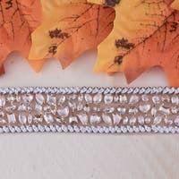 18k Two-Tone Rose Gold Unique 29 3/4ct TDW Fancy Champagne Diamond Bracelet by Auriya