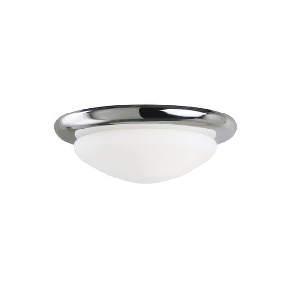 Sea Gull Ceiling Fan Light Kits 1 Light Chrome