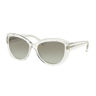 Coach HC8162 L147 511111 Crystal Womens Plastic Cat Eye Sunglasses
