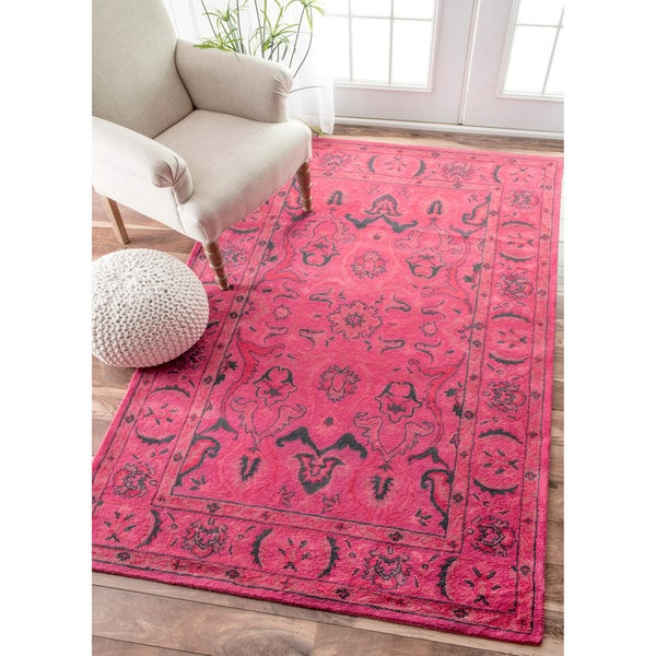 Nuloom Handmade Persian Overdyed Wool Rug 2 X 3 Free