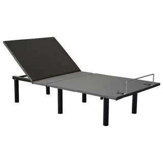 AC Pacific Black Wood/Steel Standard Power Adjustable-base Bed