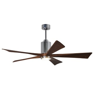 Matthew's Fan Company Patricia 5-blade 60-inch Paddle Fan With Light Kit