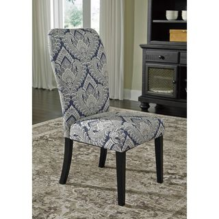 Signature Design by Ashley Indigo Sharlowe Dining Upholstered Side Chair (Set of 2)