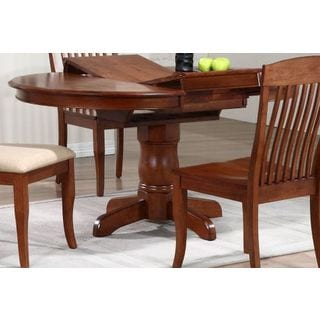 Iconic Furniture Cinnamon 5-piece Slat-back Round Dining Set