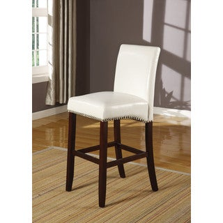 Jakki Bycast Polyurethane Counter-height Chairs (Set of 2)
