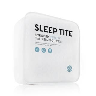 Sleep Tite Five 5ided IceTech Mattress Protector|https://ak1.ostkcdn.com/images/products/12615457/P19409344.jpg?impolicy=medium