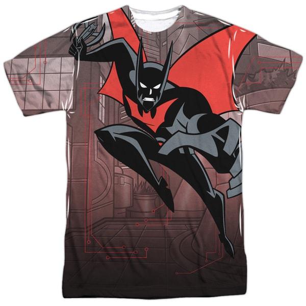 fc974f6c Batman Beyond/Bat Tech (Front/Back Print) Short Sleeve Adult Poly Crew