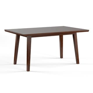 Furniture of America Katrin Mid-Century Modern Style Walnut 60-inch Dining Table