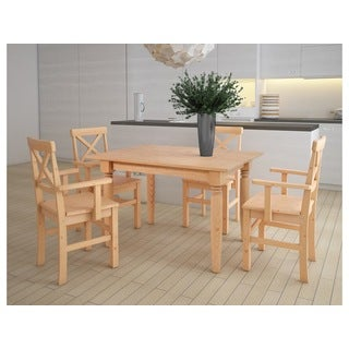 Scandanavian Living Piero 5-piece Dining Set