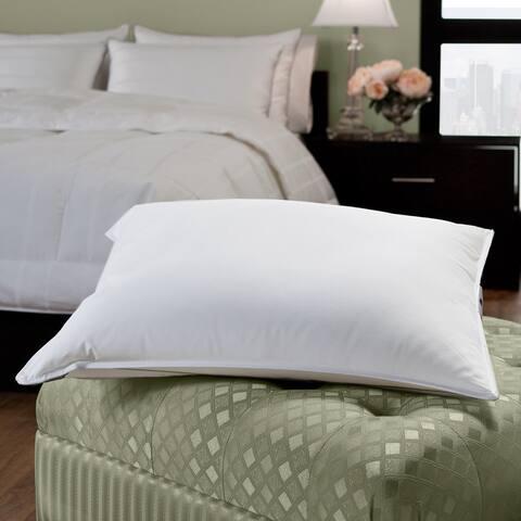 EnviroLoft Down Alternative Cambric Cotton Firm Pillow - White