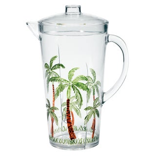Merritt International 25440 2.5 Quart Palm Tree Pitcher