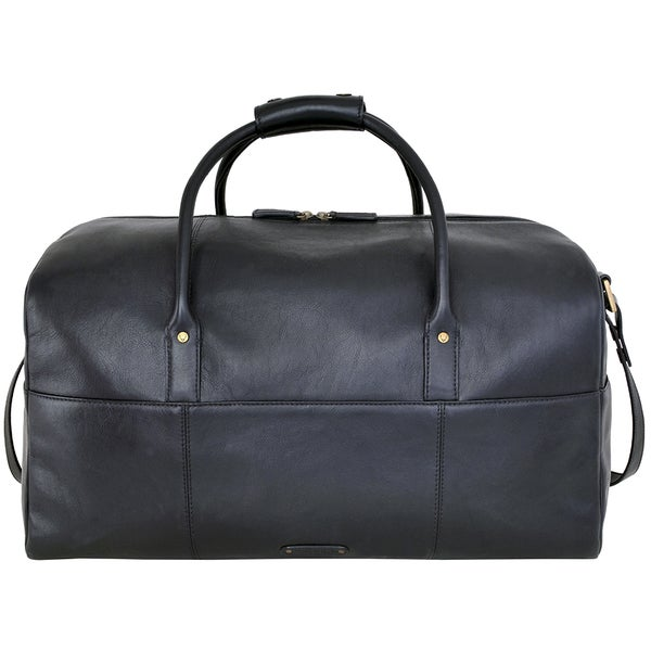 Hidesign Charles Leather Cabin-sized Duffel Bag. Opens flyout.