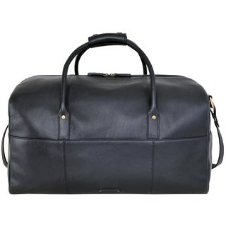 Hidesign Charles Leather Cabin-sized Duffel Bag (3 options available)