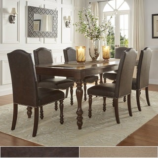 TRIBECCA HOME Parisian Rectangular Extending Dining Set