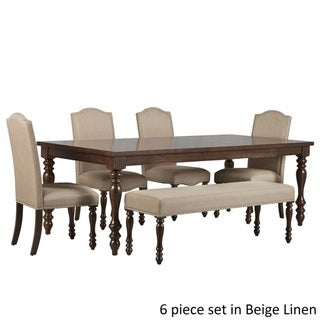Parisian Rectangular Extending Dining Set by TRIBECCA HOME