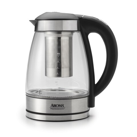 Aroma AWK-165DI Professional 1.7 Liter Digital Electric Kettle with Tea Infuser