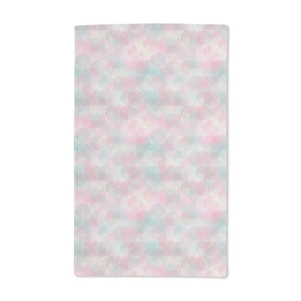 Rose Garden Around Hand Towel (Set of 2)