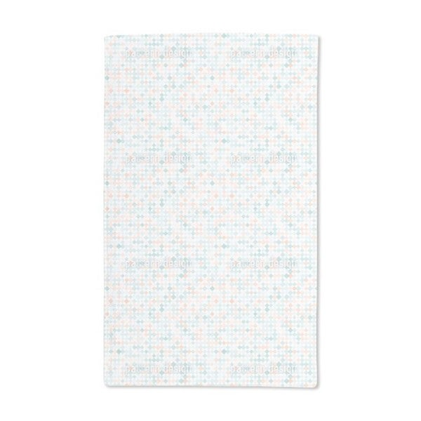 Delicate Diamond Mosaic Hand Towel (Set of 2)