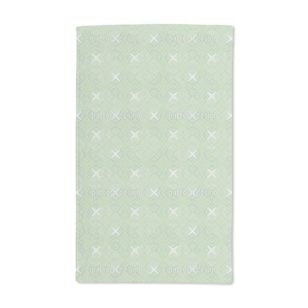 Spatial Coordinates Hand Towel (Set of 2)