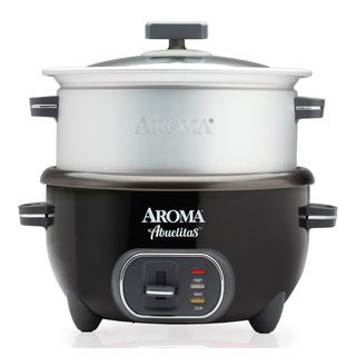 Aroma SRC-1020-1BT Abuelitas 20-cup Specialty Rice Cooker and XL Food Steamer