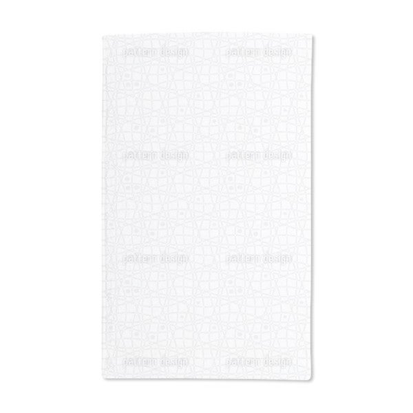 Here and There With Dot Hand Towel (Set of 2)