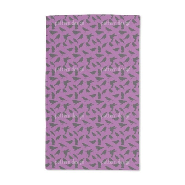 Swarm of Birds Hand Towel (Set of 2)