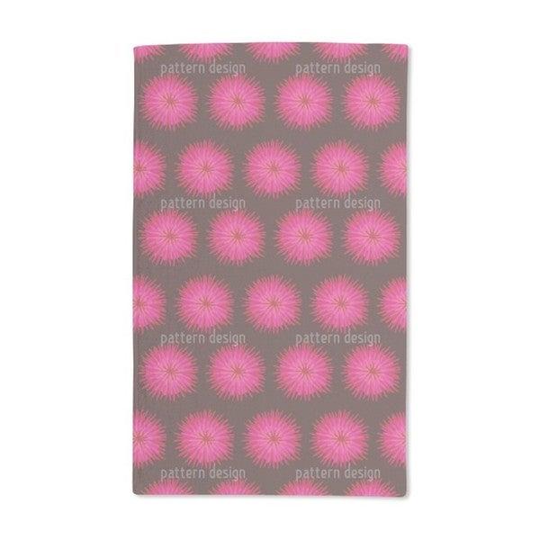 Dahlia Pink Hand Towel (Set of 2)
