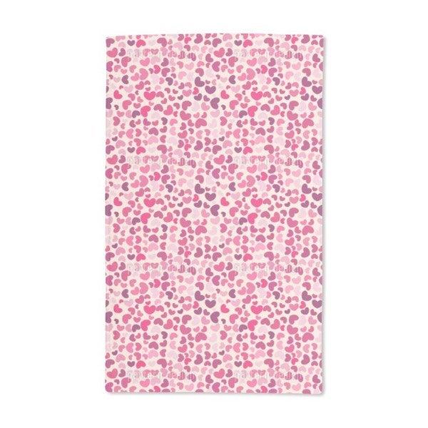 So Many Hearts Hand Towel (Set of 2)