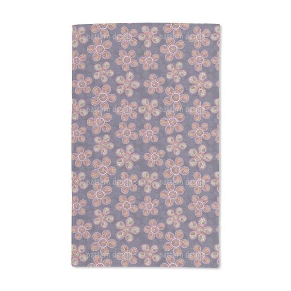 Art Nouveau Blossoms Hand Towel (Set of 2)