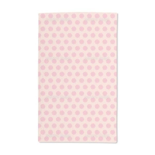 Bonbons Pink Hand Towel (Set of 2)