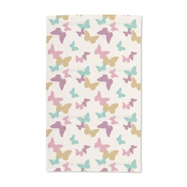 Time of the Butterflies Vintage Hand Towel (Set of 2)