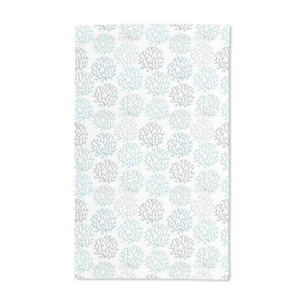 Coral Spring Hand Towel (Set of 2)