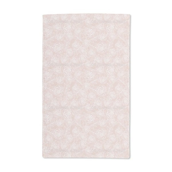 Rose Engraving Hand Towel (Set of 2)