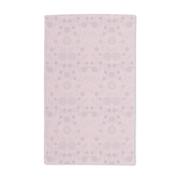 Irana in the Rose Garden Hand Towel (Set of 2)