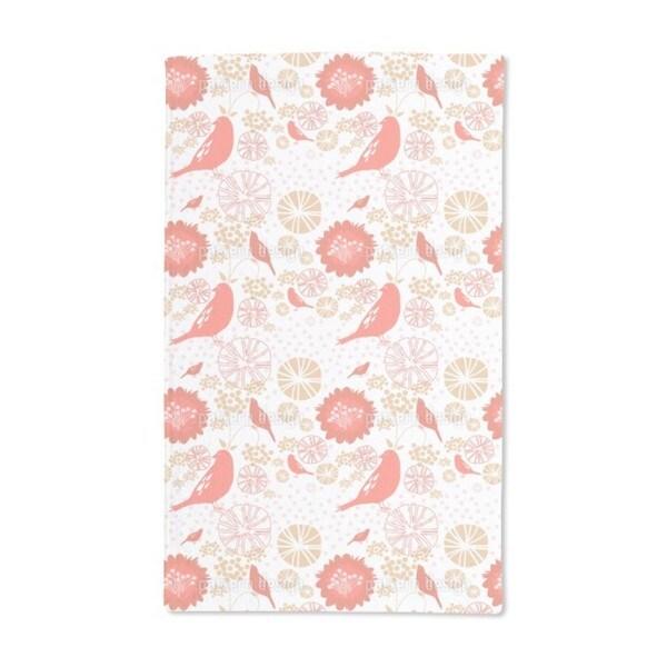 Poppy Paradise Hand Towel (Set of 2)
