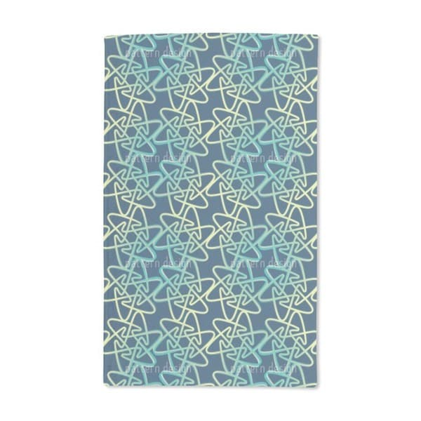 Cool Rounded Stars Hand Towel (Set of 2)