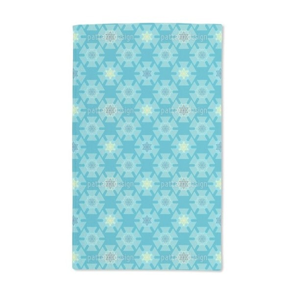 Frozen Stars Hand Towel (Set of 2)