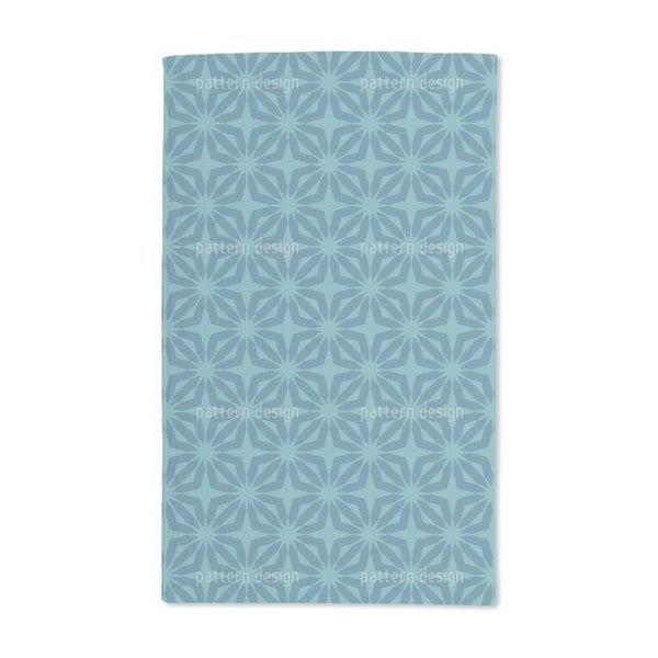 Stella Blue Hand Towel (Set of 2)