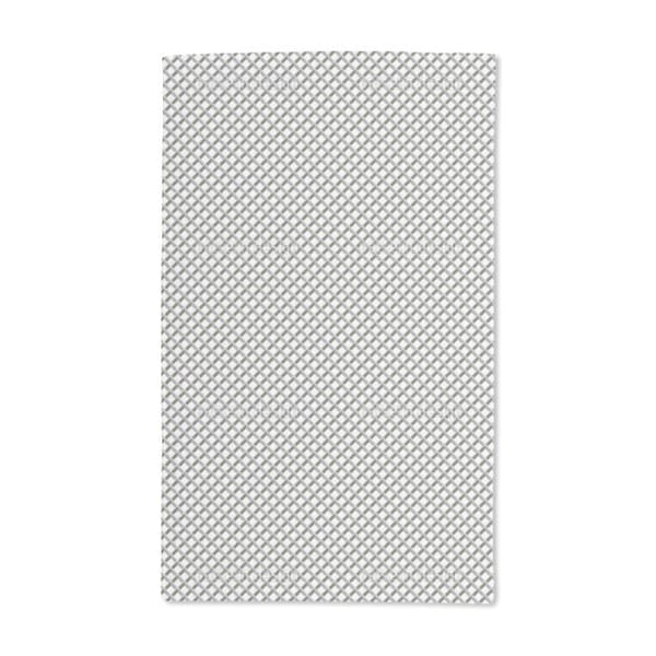 Metal Grid Hand Towel (Set of 2)