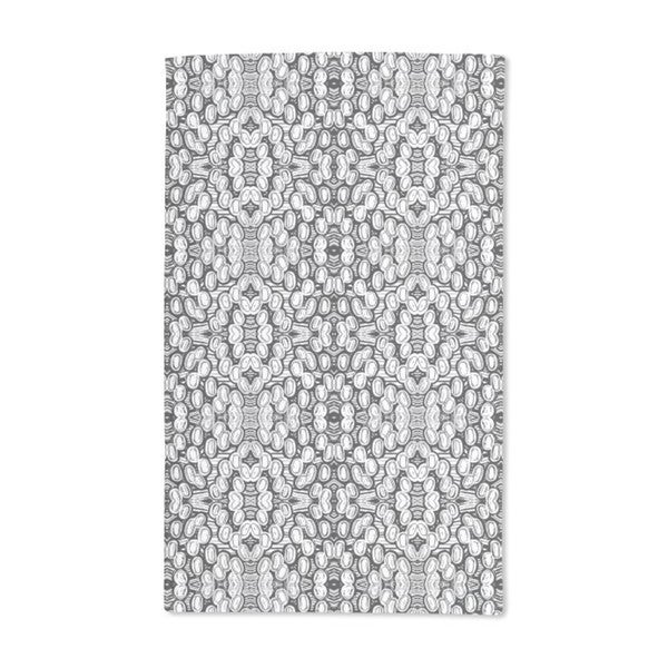 Black and White Pop Hand Towel (Set of 2)