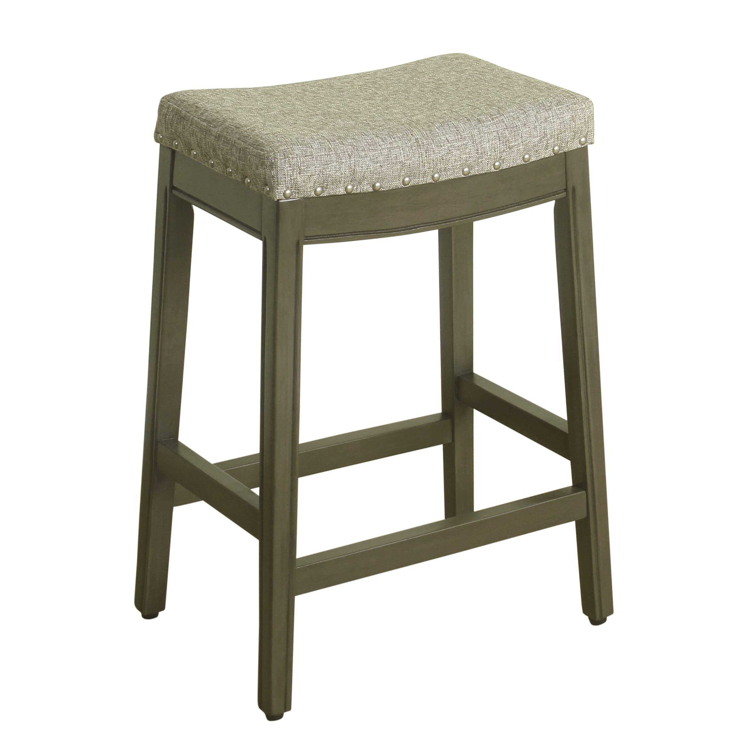 Fantastic Homepop Blake Nailhead Counter Stool Short Links Chair Design For Home Short Linksinfo