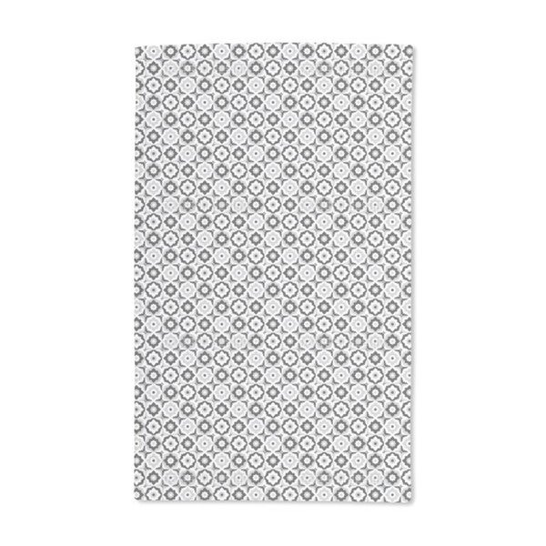 Floral Tile Mix Hand Towel (Set of 2)