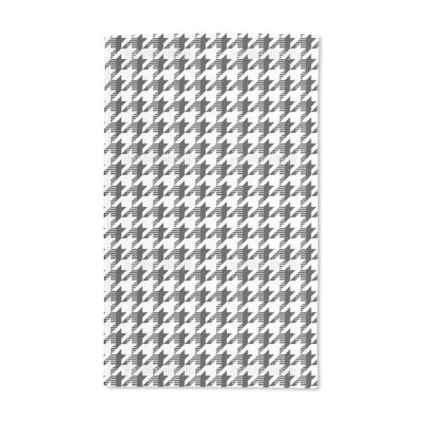 Houndstooth Timetravel Hand Towel (Set of 2)