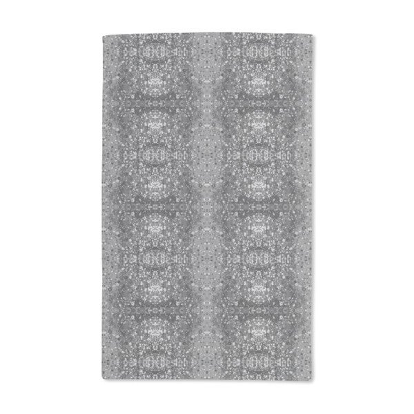 Stained Gray Hand Towel (Set of 2)