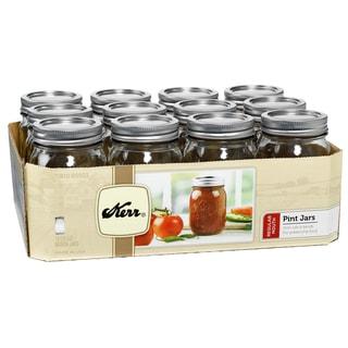 Kerr Pint Regular Mouth Canning Jars