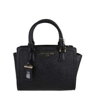 Nicole Lee Kyra Black Satchel Handbag