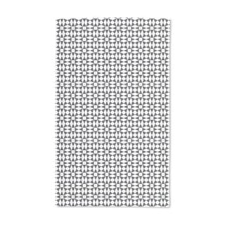 Black Diamond Illusion Hand Towel (Set of 2)