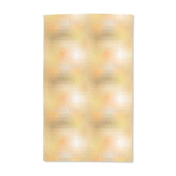 Disco Gold Hand Towel (Set of 2)