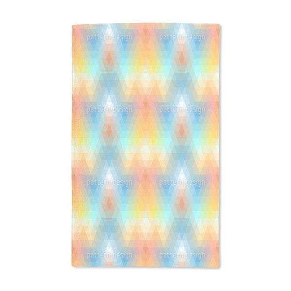 Discomania Pastel Hand Towel (Set of 2)